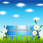 Renewable energy — Stock Vector