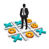 Concepto de negocio — Vector de stock