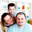 Happy family — Stock Photo #43081409