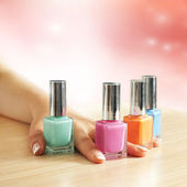 Manicure treatment — Stock Photo