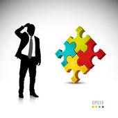 Concept d'entreprise — Vecteur