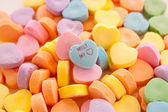 Conversation Hearts — Stock Photo