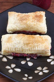 Raspberry Turnovers — Foto de Stock
