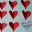 Hearts for saint Valentine's day — Stock Photo