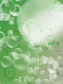A transparent soap bubble — Photo