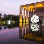 Brasilian modern building — Stock Photo #38924349