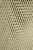 White steel grate — Stock Photo