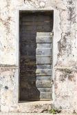 Vintage iron door — Stock Photo