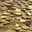 Coins texture — Stock Photo #39298127