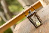 старомодную фонарь — Стоковое фото