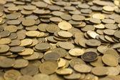 монеты текстуры — Стоковое фото