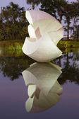 White sculpture, Brazil — Stock Photo