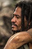 Homem na rua, Brasil — Fotografia Stock