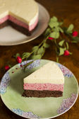 Mousse cake — Stock Photo