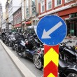 Постер, плакат: Oslo Protest of motorcycle clubs