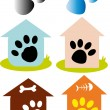 Paws — Stock Vector