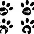 Paws — Stock Vector #40950645