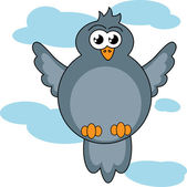 Bird. — Stock Vector