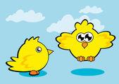 Курица — Cтоковый вектор