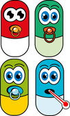 Pill — Vetor de Stock