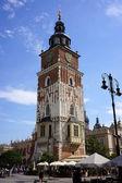 Krakau-Rathaus — Stockfoto
