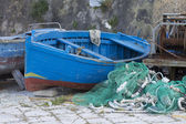 Fishing boats in Gallipoli — Stock Photo