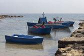 Fishing boats in Gallipoli — Stock Photo