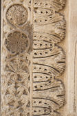 Wall element of Abbazia of Santa Maria a Cerrate — Stock Photo