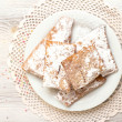 Chiacchiere - Traditional Italian carnival sweets — Stock Photo #40353153