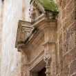 Ancient church wall detail — Stock Photo