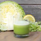 Fresh cabbage juice — Stock Photo