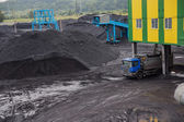 Coal shipment — Stock Photo