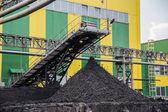Coal shipment — Stock Photo