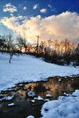 Zimowy krajobraz. — Zdjęcie stockowe