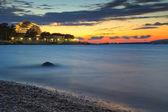 Побережье Черного моря в Геленджике, Россия — Стоковое фото