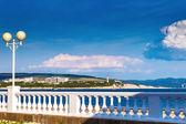 The Black sea coast in Gelendzhik, Russia — Stock Photo