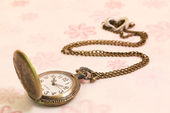 Vintage pocket watch — Stock Photo