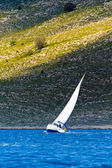 Sailing in the Adriatic sea — Stock Photo