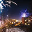 Stock Photo: new year fireworks