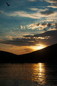 закат — Стоковое фото
