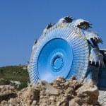 Bucket wheel excavator — Stock Photo