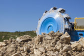 Bucket wheel excavator — Stockfoto