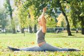 Yoga Hanumanasana — Foto Stock