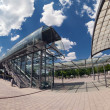 Exhibition center in Hannover — Stock Photo #40811645