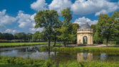 Pavilion in Herrenhausen Garden, Hannover — Stock Photo
