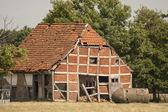 Antigua casa de marco — Foto de Stock