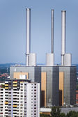 Thermal power station in Hannover — Stock Photo