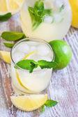 Mint lemonade — Stock Photo