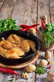Chicken tabaka — Stock Photo