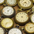 Antique clocks — Foto de stock #39250953